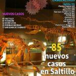 Este viernes se reportan 26 defunciones y 335 contagios en Coahuila
