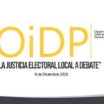 """Convoca AIDH a su Observatorio Internacional de Derechos Políticos """"La Justicia Electoral Local a Debate"""""""