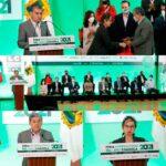 Recibe el rector de la UAdeC a la FILC 2021
